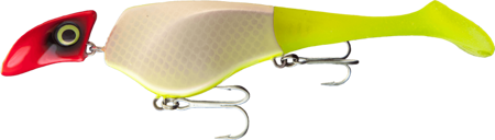 Headbanger Shad 16cm - UV Clown - Neutralny